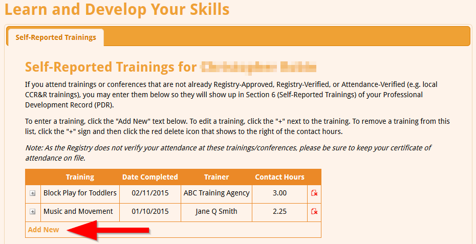 Self-Reporting Mandated Reporter Training for IDHS CCAP ...